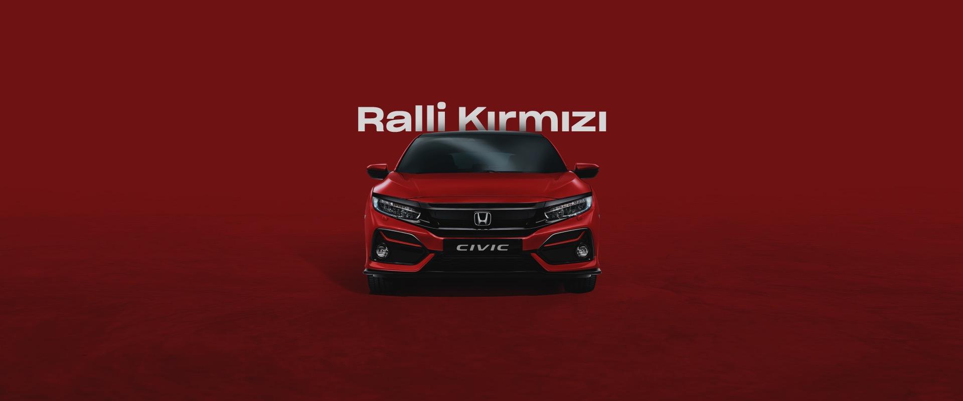 Honda Plaza  Bora Ralli Kırmızısı