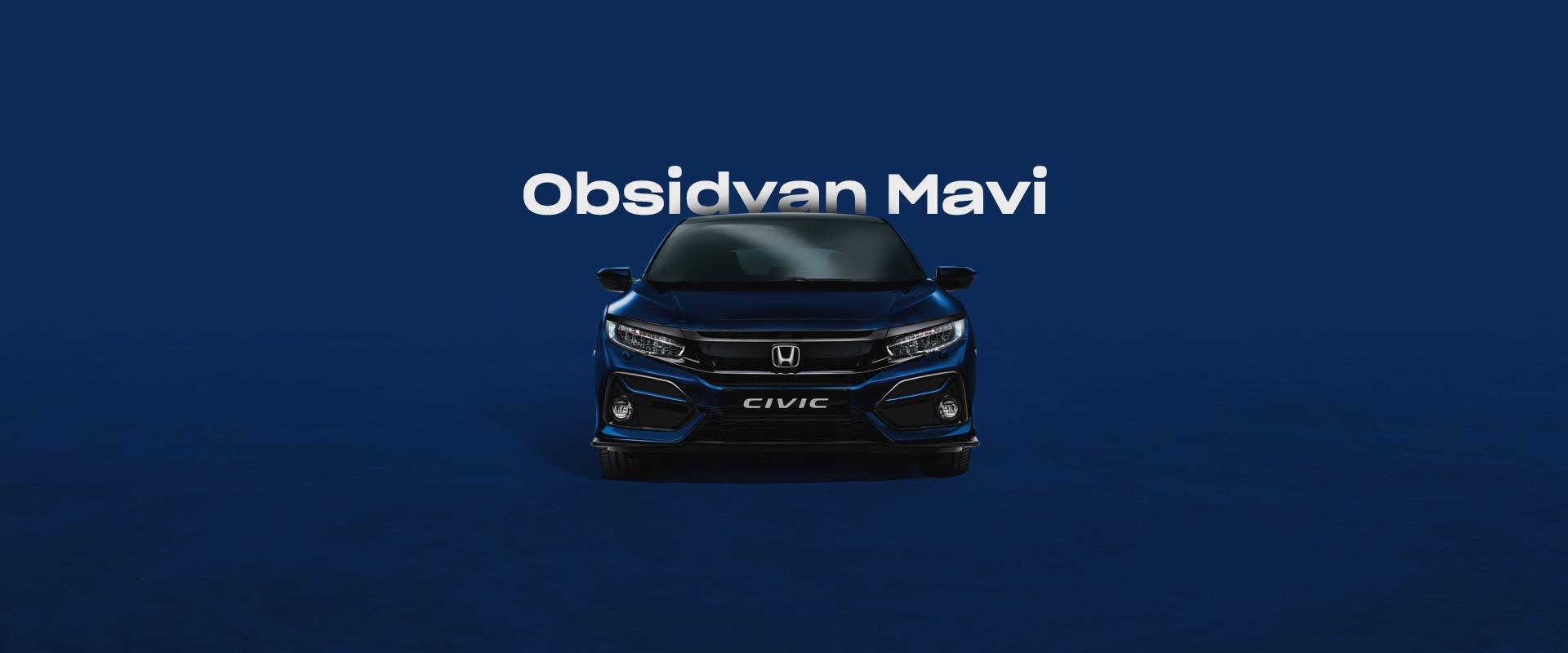 Honda Plaza  Şen Obsidyan Mavi