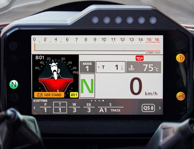 Kolay Takip Edilebilir 5 inç Renkli TFT Ekran
