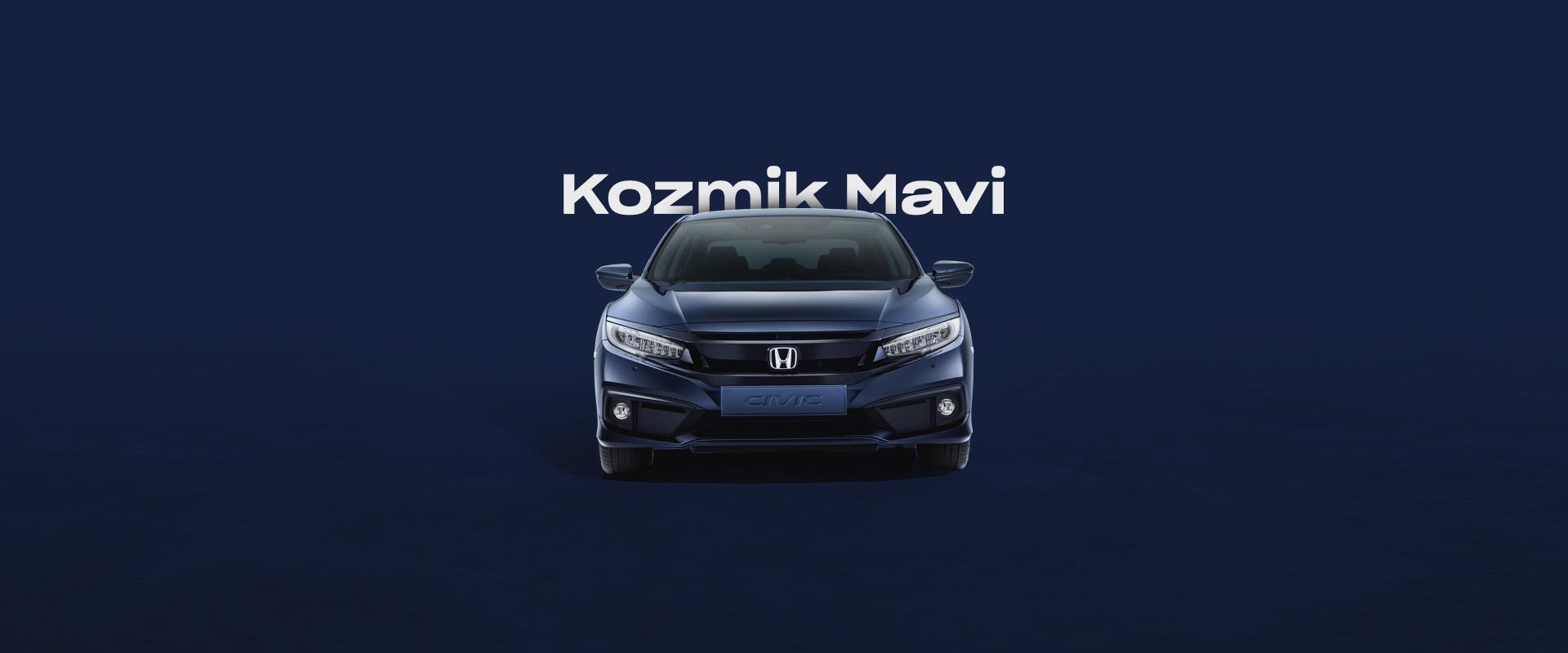 Honda Plaza  Marmara Kozmik Mavi