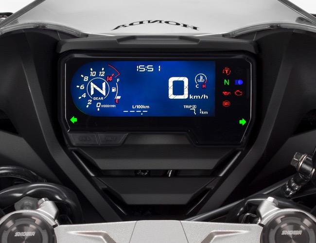 Sürüş Bilgilerini Takip Etmeniz İçin LCD Gösterge Paneli