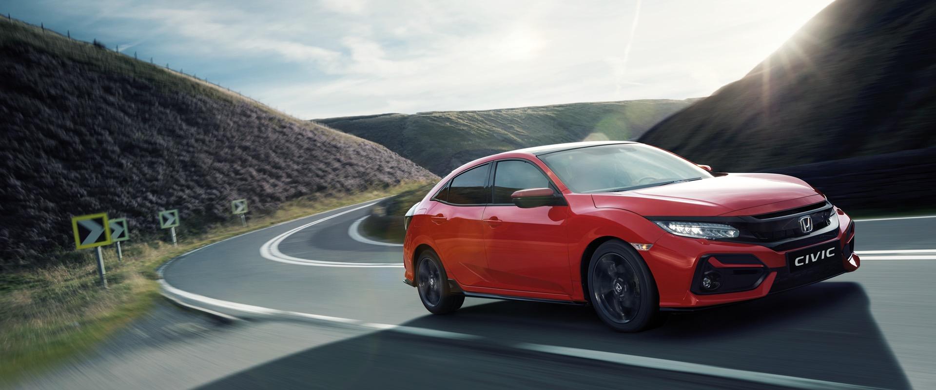 Honda Plaza  Tekbaş Civic Hatchback ile Sportif Ruhunuzu Yansıtın