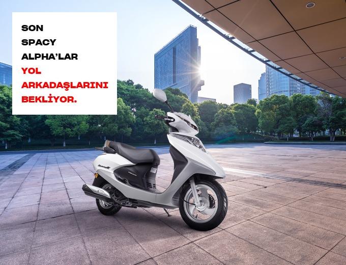 SON SPACY ALPHA'LAR YOL ARKADAŞLARINI BEKLİYOR Honda Plaza  Nitko