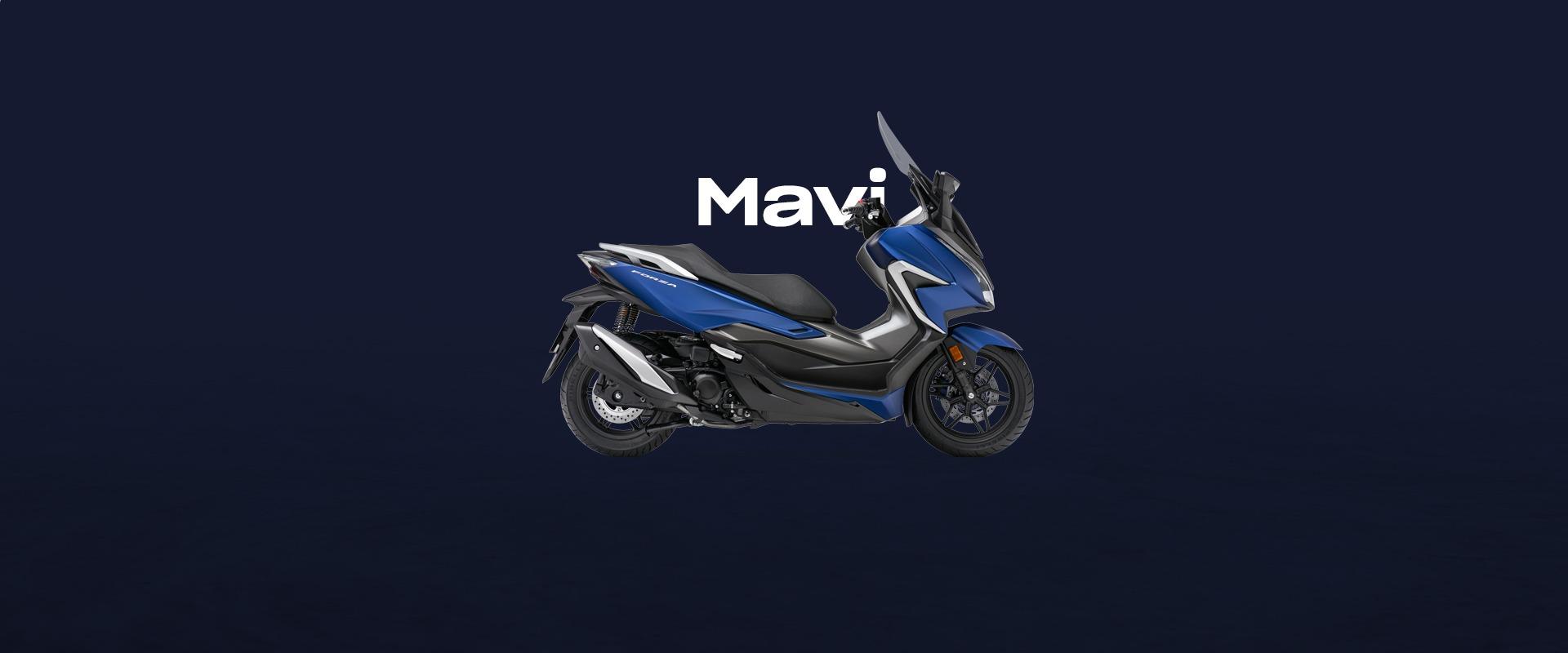 Delikanlı Motor Mavi