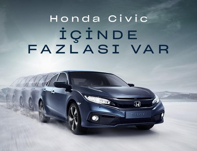 Civic Sedan Eylül Kredi Kampanyası Honda Plaza  Tekbaş