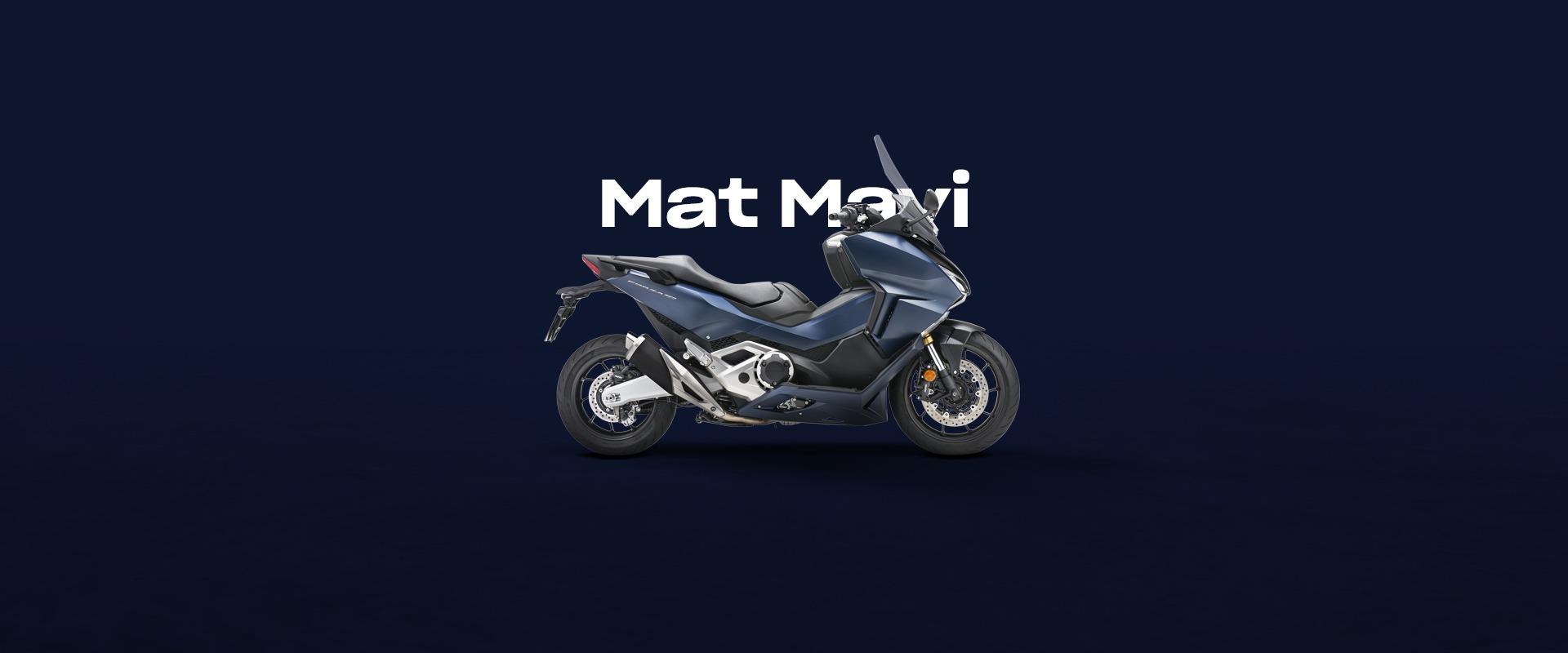 DRD Motorbikes Mat Mavi