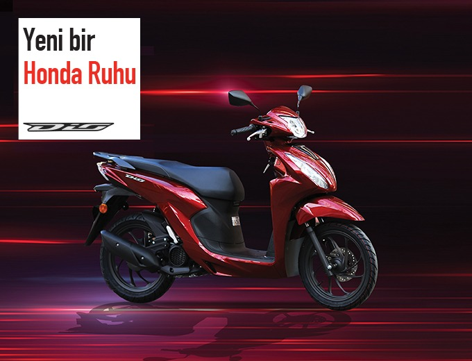 Scooter Dünyasına Yeni Bir Honda Ruhu, Yeni Honda Dio!  Konşuk Motor