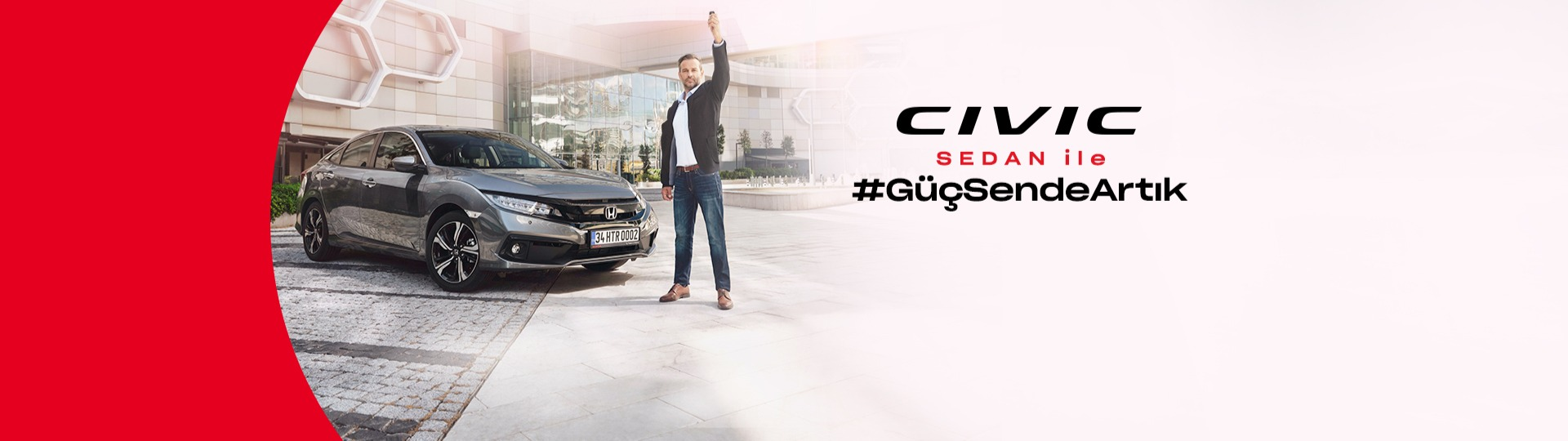 Honda Civic Sedan, %0,99 faiz avantajıyla sizi bekliyor.